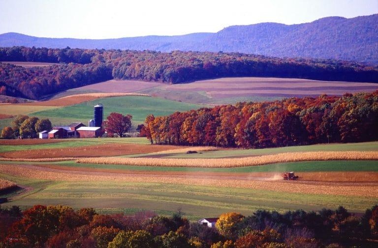 Pennsylvania Landscape View