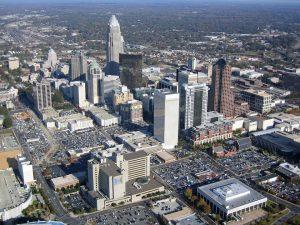North Carolina cityscape