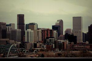Denver City, Colorado skyline